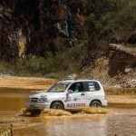 Carro do Autoterra durante Rally da Suzuki Foto: Lipe Eckel/Autoterra